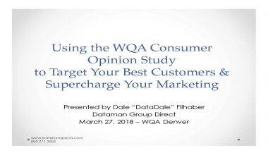 How Water Quality Dealers Can Use the WQA Consumer Opinion